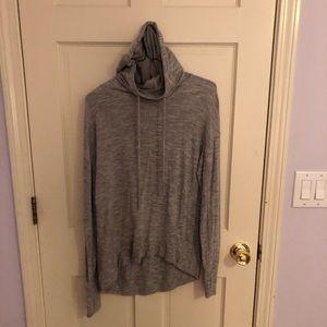 Athleta Grey Pullover Hoodie